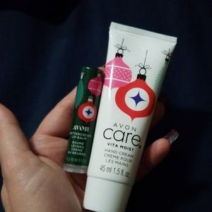 Lip balm & hand cream bundle